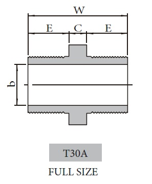 Forged High Pressure Fitting T30A_T30B