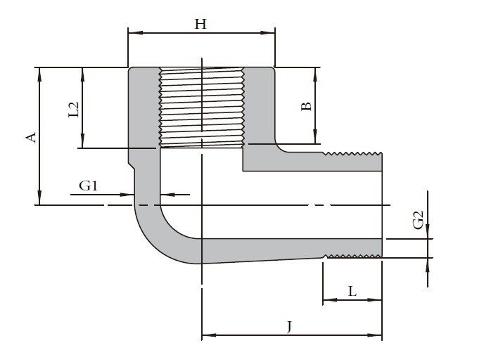Forged High Pressure Fittings T6A