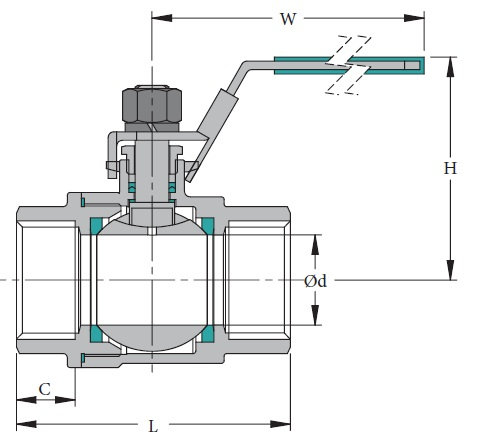 Stainless & Carbon Steel Valve BV-2L
