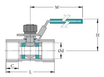 Stainless & Carbon Steel Valve V-1L
