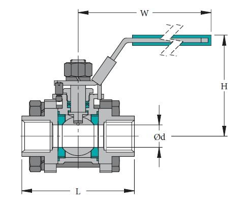 Stainless & Carbon Steel Valve V-3M