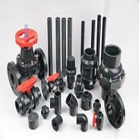 Válvulas y bridas PVC