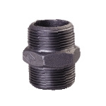 Galvanized & Black Malleable Iron Pipe Fittings Hex Nipple