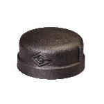 Galvanized & Black Malleable Iron Pipe Fittings Cap