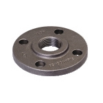 Galvanized & Black Malleable Iron Pipe Fittings Flange BS 4504
