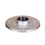 Galvanized & Black Malleable Iron Pipe Fittings Flange DRP D