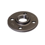 Galvanized & Black Malleable Iron Pipe Fittings Flange
