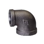Galvanized & Black Malleable Iron Pipe Fittings 90 Deg Elbow