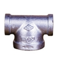 Galvanized & Black Malleable Iron Pipe Fittings Reducing Tee (Type 2)