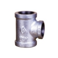 Galvanized & Black Malleable Iron Pipe Fittings Reducing Tee (Type 3)