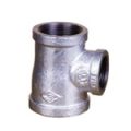Galvanized & Black Malleable Iron Pipe Fittings Reducing Tee (Type 4)
