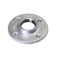 Round Flanges with 4 bolt holes