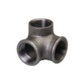 Galvanized & Black Malleable Iron Pipe Fittings Side Outlet Elbow