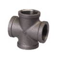 Galvanized & Black Malleable Iron Pipe Fittings Cross