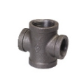 Galvanized & Black Malleable Iron Pipe Fittings Reducing Cross