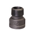 Galvanized & Black Malleable Iron Pipe Fittings Extension Piece (Socket M&F)