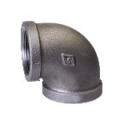 Galvanized & Black Malleable Iron Pipe Fittings 90 Deg Elbow