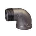 Galvanized & Black Malleable Iron Pipe Fittings Street Elbow (90 Deg)