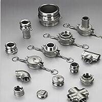 STAINLESS STEEL 150LBS THREADED FITTINGS & CAMLOCK COUPLINGS