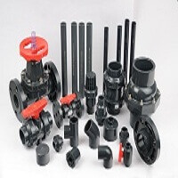 PVC VALVES & FLANGES